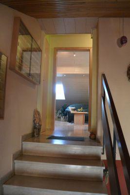 Haus Treppenaufgang Zur Wohnung Foto Fewo